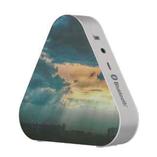 Sunbeams through the clouds speaker