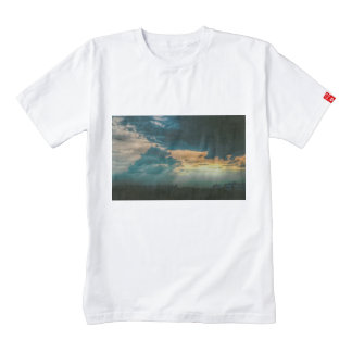 Sunbeams through the clouds zazzle HEART T-Shirt