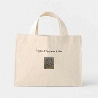 Sunbeamtees Logo 2, I'll Be A Sunbeam 4 Him Mini Tote Bag
