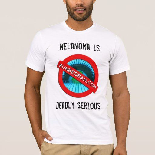 Sunbedban Melanoma Patients Australia  support T T-Shirt