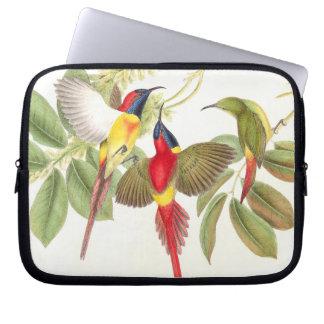 Sunbird Birds Wildlife Animals Botanical Laptop Sleeve