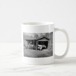 Sunbonnet Ladies on Wash Day, 1936 Coffee Mug
