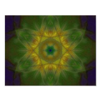 Sunbow Mandala Card