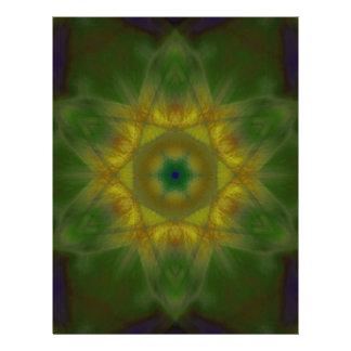 Sunbow Mandala Full Color Flyer