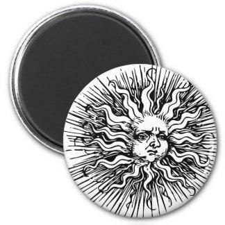 Sunburn Fridge Magnet