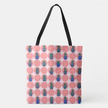 Sunburns and Succulents - Tote Bag - Large