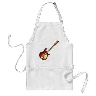 Sunburst 12 String Semi-hollow Guitar Adult Apron