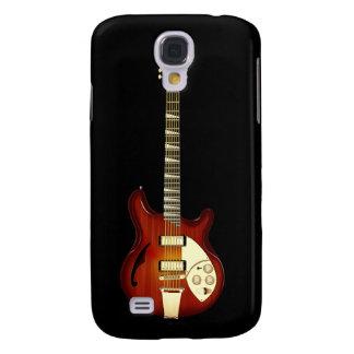Sunburst 12 String Semi-hollow Guitar Samsung Galaxy S4 Cases