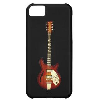 Sunburst 12 String Semi-hollow Guitar Cover For iPhone 5C