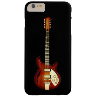 Sunburst 12 String Semi-hollow Guitar Barely There iPhone 6 Plus Case