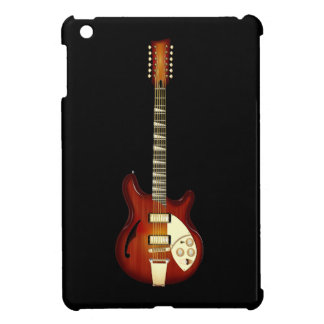 Sunburst 12 String Semi-hollow Guitar Case For The iPad Mini