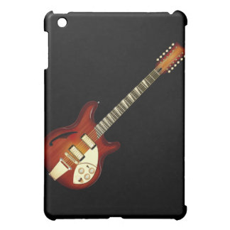Sunburst 12 String Semi-hollow Guitar iPad Mini Case