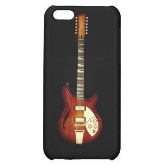 Sunburst 12 String Semi-hollow Guitar iPhone 5C Covers