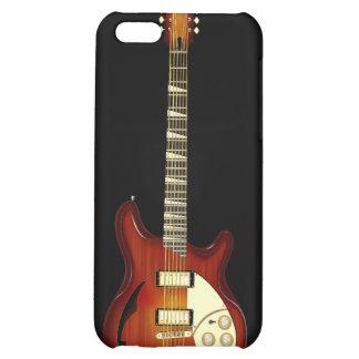 Sunburst 12 String Semi-hollow Guitar iPhone 5C Cover