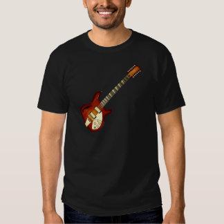Sunburst 12 String Semi-hollow Guitar Shirt