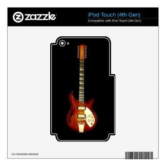Sunburst 12 String Semi-hollow Guitar iPod Touch 4G Skin