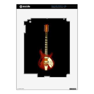Sunburst 12 String Semi-hollow Guitar iPad 2 Skins