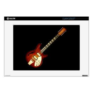 Sunburst 12 String Semi-hollow Guitar Skins For Laptops