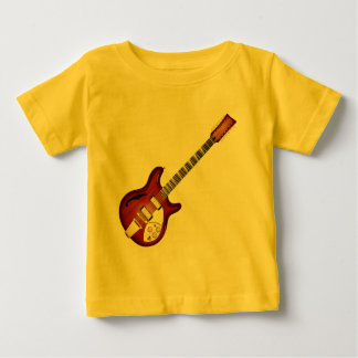 Sunburst 12 String Semi-hollow Guitar Tee Shirt
