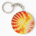 Sunburst 1.1 - Fractal Keychain