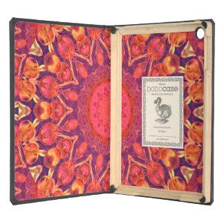 Sunburst, Abstract Mandala Star Circle Dance iPad Air Cases