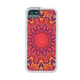 Sunburst, Abstract Mandala Star Circle Dance iPhone 5 Cases