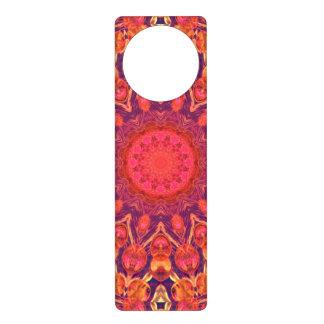 Sunburst, Abstract Mandala Star Circle Dance Door Knob Hanger