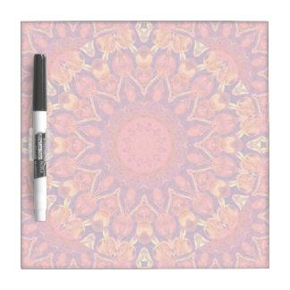 Sunburst, Abstract Mandala Star Circle Dance Dry Erase Board