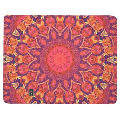 Sunburst, Abstract Mandala Star Circle Dance Journal