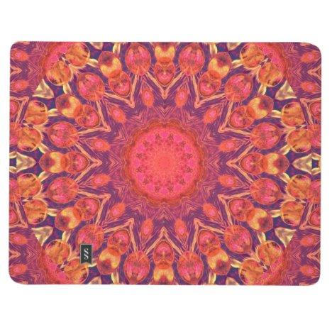 Sunburst, Abstract Mandala Star Circle Dance Journal
