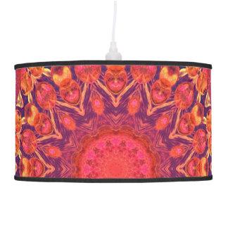 Sunburst, Abstract Mandala Star Circle Dance Pendant Lamp