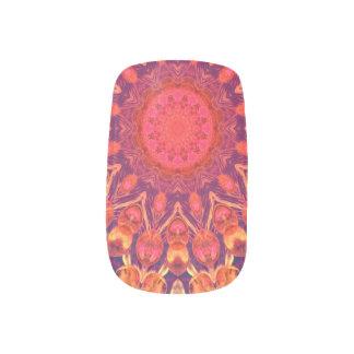 Sunburst, Abstract Mandala Star Circle Dance Minx® Nail Art