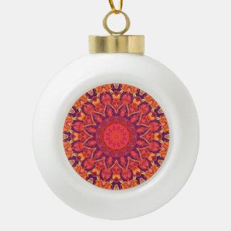 Sunburst, Abstract Mandala Star Circle Dance Ornaments