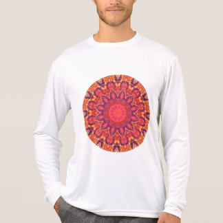 Sunburst, Abstract Mandala Star Circle Dance T-Shirt