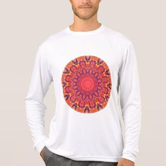 Sunburst, Abstract Mandala Star Circle Dance T-shirts