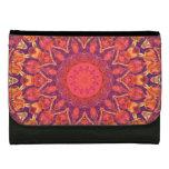 Sunburst, Abstract Mandala Star Circle Dance Wallet