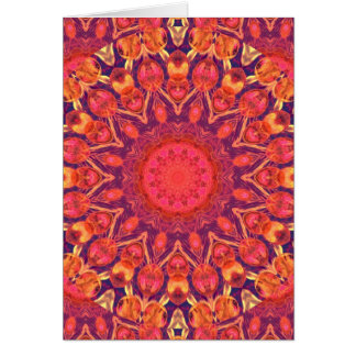 Sunburst, Abstract Star Circle Dance Cards