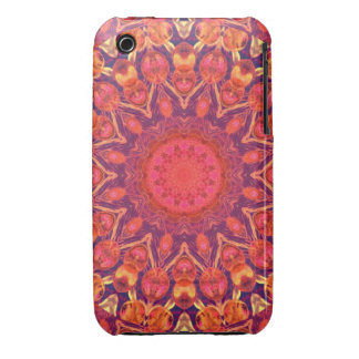 Sunburst, Abstract Star Circle Dance Case-Mate iPhone 3 Cases
