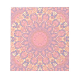 Sunburst, Abstract Star Circle Dance Memo Note Pad