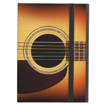 Sunburst Acoustic Guitar Cover For iPad Air