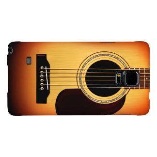 Sunburst Acoustic Guitar Galaxy Note 4 Case