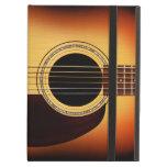 Sunburst Acoustic Guitar iPad Folio Cases