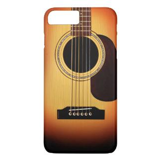 Sunburst Acoustic Guitar iPhone 7 Plus Case