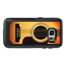 Sunburst Acoustic Guitar OtterBox Samsung Galaxy S7 Case