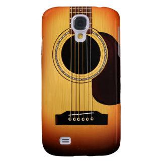 Sunburst Acoustic Guitar Samsung Galaxy S4 Case
