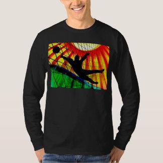 Sunburst and Net Soccer Goalie T-Shirt