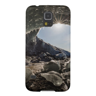 Sunburst at ice cave entrance galaxy s5 case