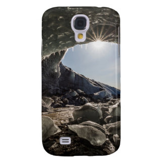 Sunburst at ice cave entrance samsung galaxy s4 case
