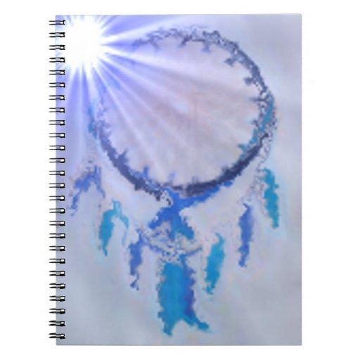'Sunburst Blue' Spiral Notebooks