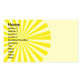 Sunburst Business Card